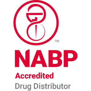 NABP Accredited Drug Distributor Badge